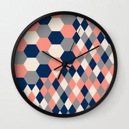 Honeycomb 2 Wall Clock