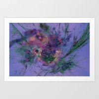 aquarius Art Prints featuring Aquarius by J5rson