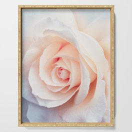Rose | Flowers Photography | Spring | Blush Pink | Love Serving Tray