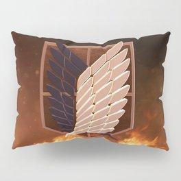 Attack On Titan Logo Pillow Sham