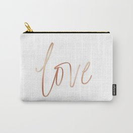 Your Love is Gold Carry-All Pouch