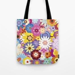 Floral Mix #1 Tote Bag