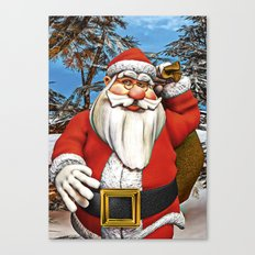 Santa Gifts Canvas Print