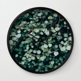 Gentle Green Wall Clock