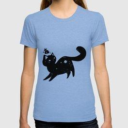 Kawaii Space Kitty Cat Artwork T-shirt