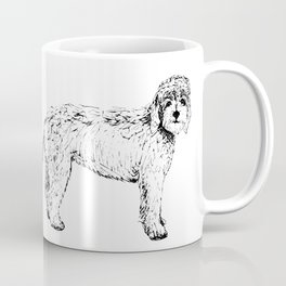 Labradoodle/Goldendoodle Ink Drawing Coffee Mug
