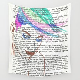 Parrot Hair Wall Tapestry