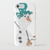 olaf iPhone & iPod Cases featuring Olaf & Pals by Cheshire Giraffe