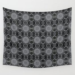 Sharkskin Floral Abstract Wall Tapestry