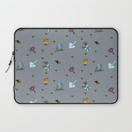 BOTW Sheikah Pattern Laptop Sleeve