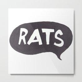 RATS Metal Print