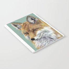 Fox Portrait 01 Notebook