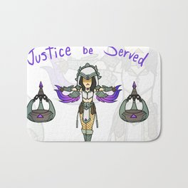 Smite - Justice be served! Bath Mat