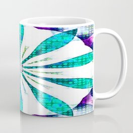 Ocean Gems Flower Coffee Mug