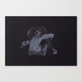 The Larry Stylinson Hug Canvas Print