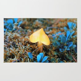 magic forest lamp Rug