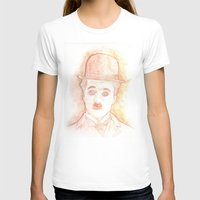 charlie chaplin T-shirts featuring CHARLIE CHAPLIN by willeyworks