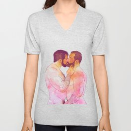 THE KISS Unisex V-Neck