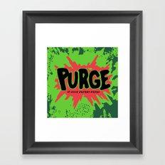 purge Framed Art Print