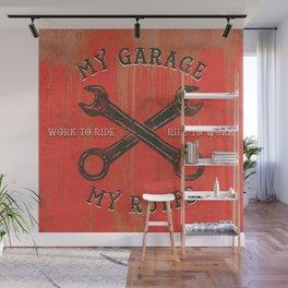 My garage Wall Mural