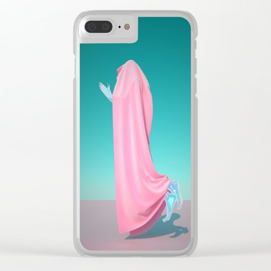 Pink Velvet Clear iPhone Case