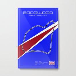 Goodwood Racetrack Metal Print