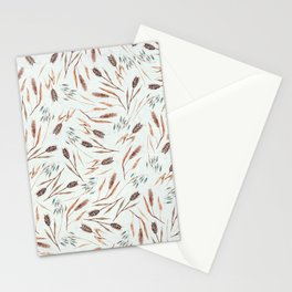 Cereal Field Pattern Stationery Cards