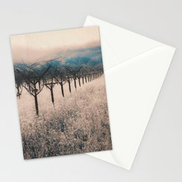 Winter Vineyard II - Nature's Orchestra Stationery Cards