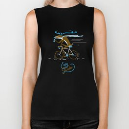 Easy Rider // (cycling hipster deer) Biker Tank
