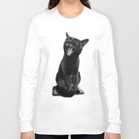 jojo Long Sleeve T-shirts featuring Lets Draaaw! by SensualPatterns