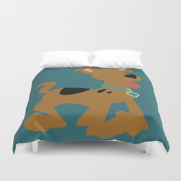 Puppy Scooby Duvet Cover