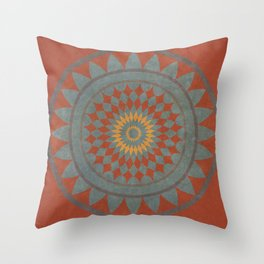 Maroon I Throw Pillow
