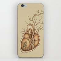 tree of life iPhone & iPod Skins featuring Tree of Life by Enkel Dika