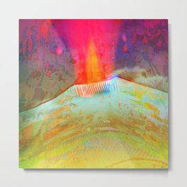 Volcanic Eruption II Metal Print