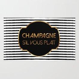 Champagne S'il Vous Plait Rug