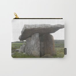 Poulnabrone Dolmen - Angled Carry-All Pouch