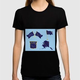 Alaska Flag - Happy National Alaska Day T-shirt