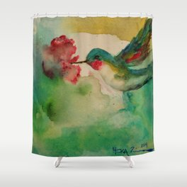 'Color Me Happy' Shower Curtain