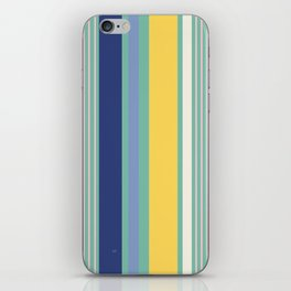 Sunny Beach Print iPhone Skin