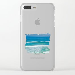 Cleansing Bliss Clear iPhone Case