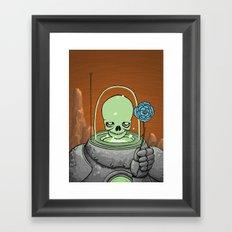 Atomic Lover Framed Art Print