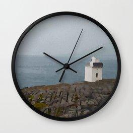 The Burren Lighthouse Wall Clock