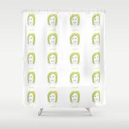 Celery Clinton Shower Curtain