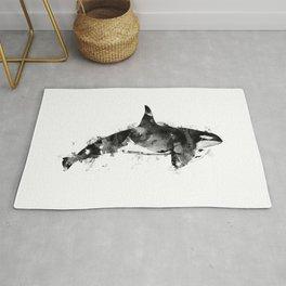 Killer Whale Rug