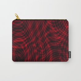 exotic lines on red Carry-All Pouch