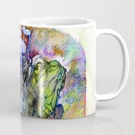 Psychedelic elephant Coffee Mug