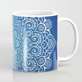 Mandala dark blue Coffee Mug