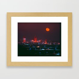 Missile Row Framed Art Print