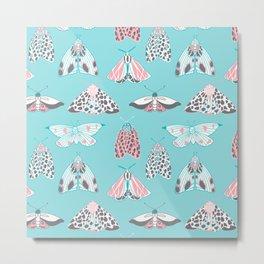 Sweet Moths Metal Print