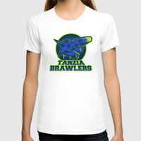monster hunter T-shirts featuring Monster Hunter All Stars - The Tanzia Brawlers by Bleached ink